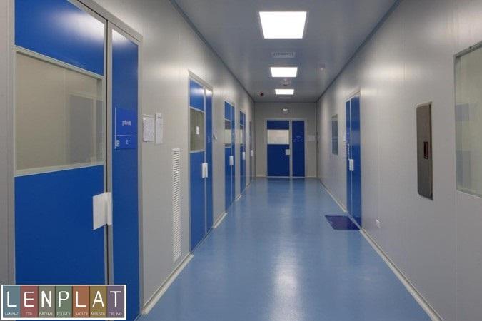 Износостойкие панели для медицинских учреждений